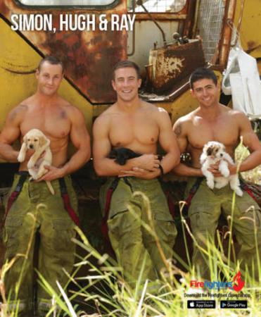 Calendario Pompieri Americani.Sexy Pompieri E Cuccioli Il Firefighters Calendar 2017