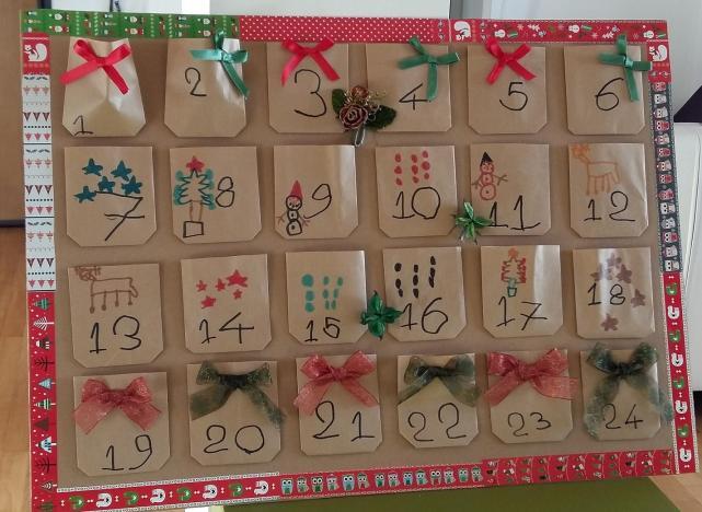 Il Calendario Dellavvento.Eco Idee Creative I Calendari Dell Avvento Fatti Col