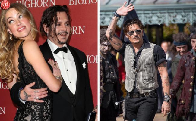 (KIKA) - PARIGI - Johnny Depp è stato protagonista di una incursione da  favola a Disneyland Paris ce4678d3784d