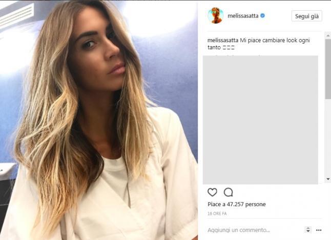 Melissa Satta Cambia Look Il Risultato Piace Ai Fan Milleunadonna