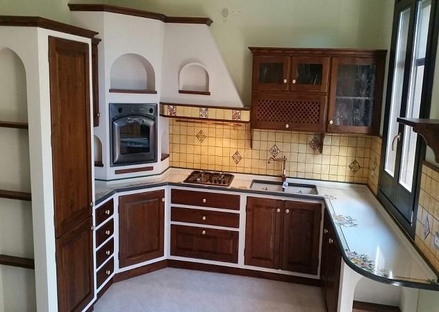 Ilrustico cucine in muratura caltagirone