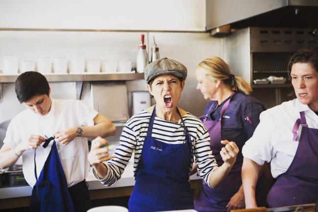 Incontri uno chef femminile