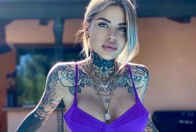 Bellissima e tatuata: Zoe Cristofoli è la nuova fiamma di Theo Hernandez - Tiscali Sport