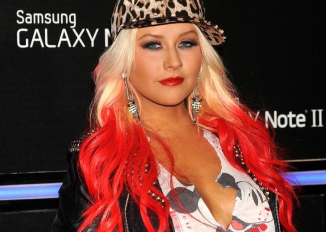 Christina Aguilera incontri