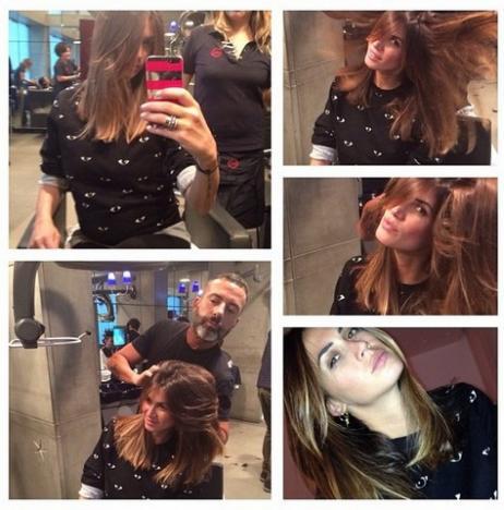 Melissa Satta Cambio Di Look E Prove Da Mamma Tiscali Notizie