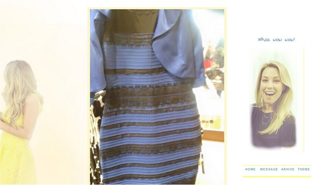 factory price b2fca 80013 Oro e bianco o nero e blu? Di che colore è il vestito: ecco ...